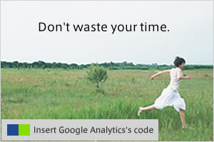 Insert Google Analytics's code
